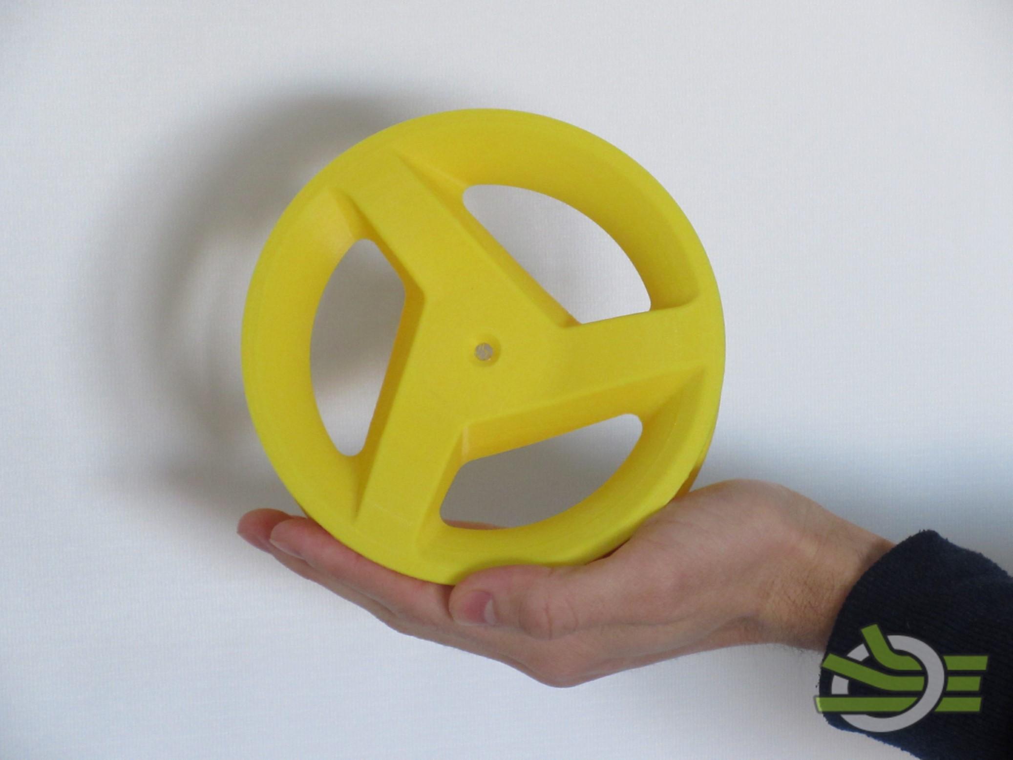 Prototipazione di un modello di ruota con pneumatico